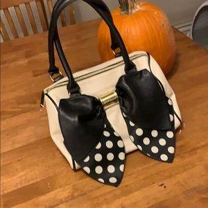 Betsey Johnson bow purse